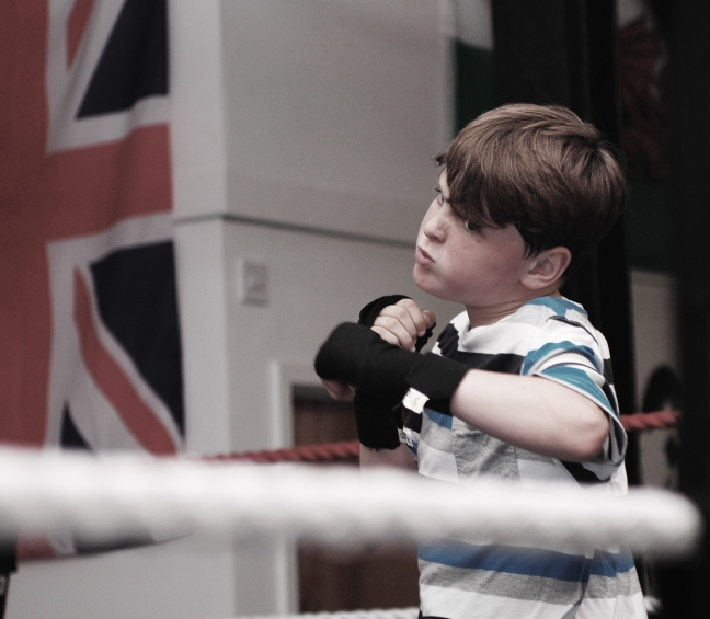 Under 11 - shadow boxing