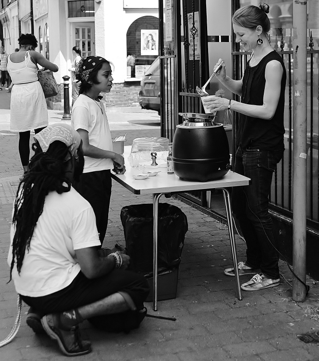 Street food - noodles - £1 a pot